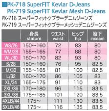 Komine Pk 718 Super Fit Kevlar Denim Jeans 07 718