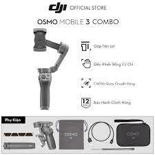 Tay Cầm Gimbal Chống Rung Điện Thoại DJI Osmo Mobile 3 Combo - Hàng Chính  Hãng - Bảo Hành 12 Tháng - Gimbal