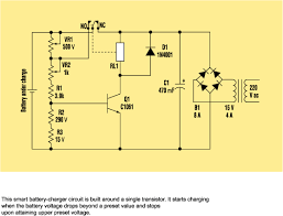 24 volt battery charger circuit diagram pdf 24 build a smart battery charger using a single transistor circuit on 24 volt battery charger circuit
