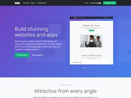 4 to a page template wingman landing page app template bootstrap themes