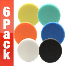 Lake Country 5 1 2 Inch Flat Pads 6 Pack Your Choice