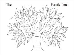 Template Tree Blank Family Tree Template 32 Free Word Pdf Documents