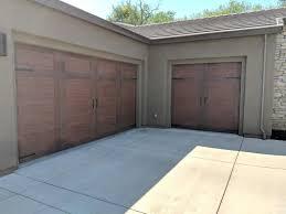 installation of clopay canyon ridge garage doors