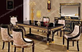 italian lacquer dining room furniture. Here\u0027s Our New Collection From Luxury Furniture! French Empire Inspired Black Lacquer Decorated With Gold And Full Lead Crystal. Italian Dining Room Furniture M