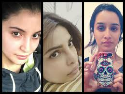 bollywood actresses who have rocked with their no makeup selfies beauty and blush
