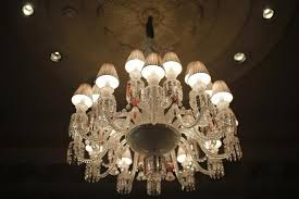 image used for ilrative purpose a chandelier hangs from the ceiling at luxury hotel four
