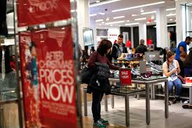 a woman looks for shoes at a macy s on december 24 2016 in new