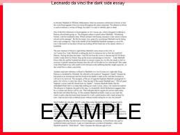 leonardo da vinci the dark side essay coursework writing service leonardo da vinci the dark side essay essay on da vinci s the mona lisa dark