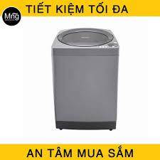 Máy giặt SHARP lồng đứng 10.2KG ES-U102HV-S chính hãng, giá rẻ