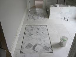 Bath Makeover Tour: Bath Suite with Old-Hollywood Glamour. Marble Bathroom  FloorWhite Marble BathroomsMarble Tile ...