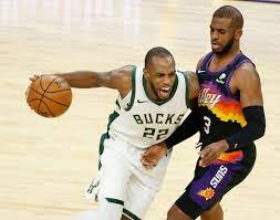 Phoenix Suns vs. Milwaukee Bucks ...