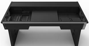 custom computer desk plans with images full size