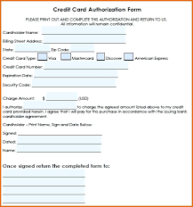 cc auth form credit card authorisation form template australia images template