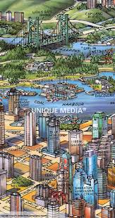 vancouver map by unique media zoom