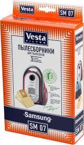 <b>Vesta</b> filter SM 07 <b>комплект пылесборников</b>, 5 шт — купить в ...