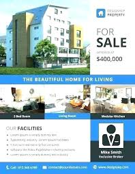 House For Rent Flyer Template Word House For Rent Template Davidhdz Co