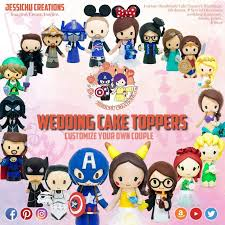 Cake Toppers Jessichu Creations