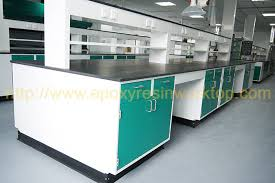 university anti aging science lab island bench resin chemical resistant countertops