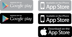 App Store and Google Play Logo Vector (.EPS) Free Download