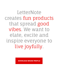 About us – <b>LetterNote</b>