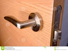 Background Wood Door Lock House Stock Photo - Image of locked, lock ...