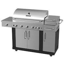 natural gas forge. master forge new outdoor kitchen 5-burner (60,000-btu) liquid propane and natural gas