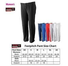 Girls Womens Fastpitch Slowpitch Softball Pants Low Rise