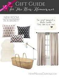 Gift Guide For The New Homeowner   New Room Gift Basket