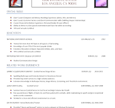 Nice Best Mixologist Resume Ideas Example Resume And Template