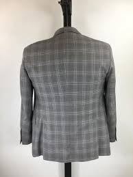Todd Snyder Size Chart Details About Todd Snyder Gray 100 Wool Plaid Sport Coat Us 36s