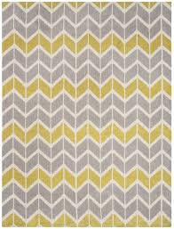 arlo chevron rugs lemon grey ar06