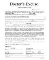 Using A Doctors Excuse Form For Work David Hewitt Doctors Note