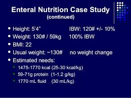 Nutrition Support Case Study   FN         Medical Nutrition