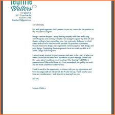 Graphic Design Cover Letter Experience Resumes
