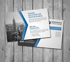 Postcard Templates Free Custom Back Of Business Postcard Template Vilanovaformulateam
