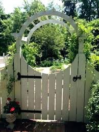 iron garden arbor gate and wood gates essential metal with kmart g