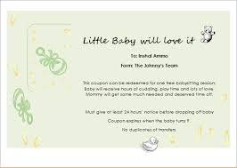 babysitting certificates babysitter gift certificate template for word document hub