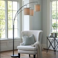 living room floor lamp. helene arc floor lamp living room