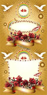 flower streamers decorated the wedding card vector graphic over Wedding Card Vector Graphics Free Download flower streamers decorated the wedding card vector graphic free download Vector Background Free Download