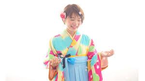 卒業式の袴の着付けとショートのヘアアレンジ代々木新宿の美容院