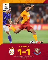 "Galatasaray SK on Twitter: ""Maç sonucu: Galatasaray 1-1 St. Johnstone  #GSvSJFC #UEL… """