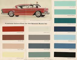 Colors For 1957 Garnet Red Versus Bittersweet Buick