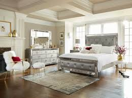 Angelina 6 Piece Queen Bedroom Set Metallic