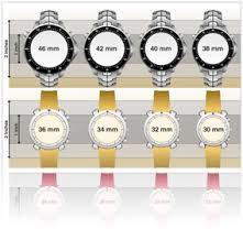 Mens Watch Box Mens Watches Case Diameter 42mm Size Chart
