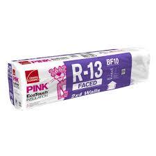 r 13 ecotouch pink kraft faced insulation fiberglass insulation batt 15 in x 93 in