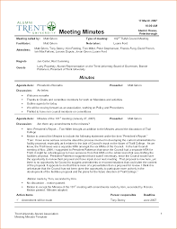 Example Minutes Format Stunning Sample Of Minut On Sample Of Minutes