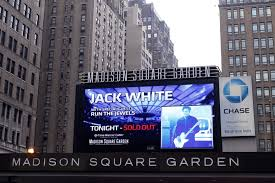 tune in to the live broadcast of jack s madison square garden show tonight at 9pm est 6pm pst on the jack white live pandora station in the us