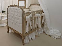 image of luxury baby crib bedding
