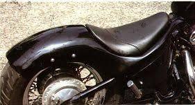 west eagle stream riders rear fender seat kit honda shadow 600
