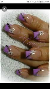 Pin by Betty Laswell on nails | Purple nail art, Purple nail ...